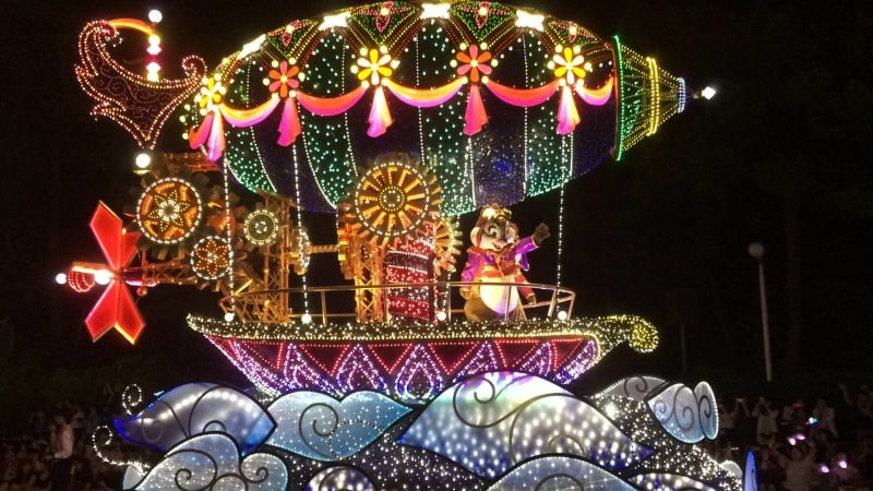 Chip N Dale Tokyo Disneyland Electrical Parade Dreamlights