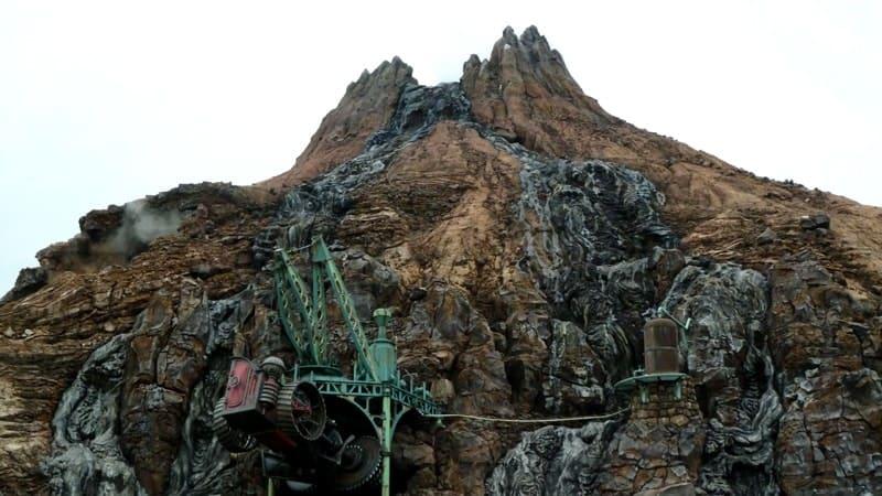 Mount Prometheus at Tokyo DisneySea