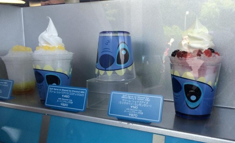 Stitch Cup at Tokyo Disneyland
