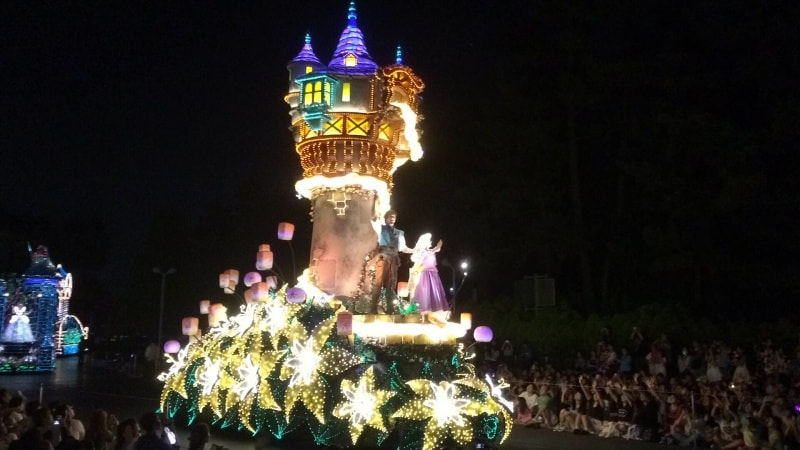 Tangled Tokyo Disneyland Electrical Parade Dreamlights