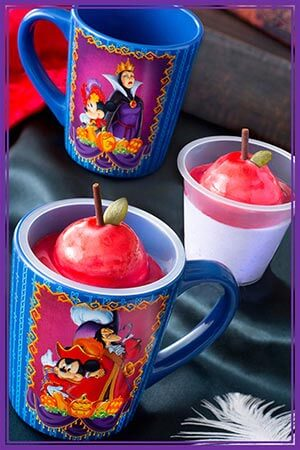 Apple Mousse, with a Souvenir Cup ¥720 Available at Zambini Brothers Ristorante