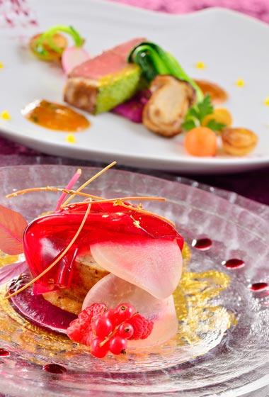 Bella Vista Lounge Dinner Course ¥10,290