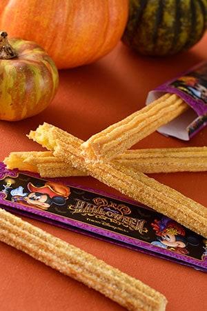 Pumpkin Churros ¥310 Available at Open Sesame