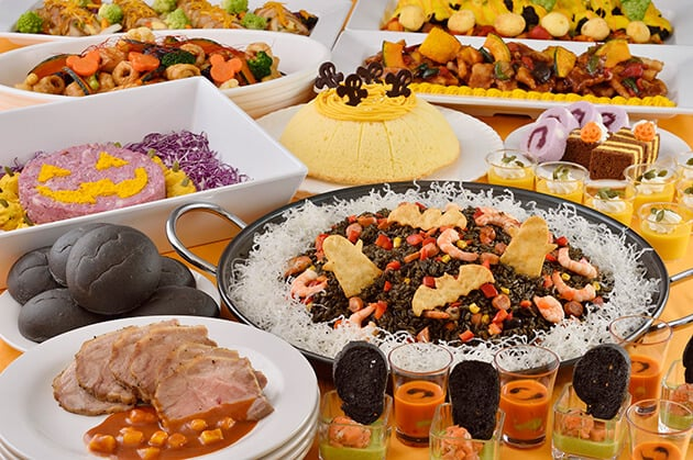 Crystal Palace Halloween Buffet  Adults ¥3,090 Children 7 - 12 years old ¥1,950 Children 4 - 6 years old ¥1,230