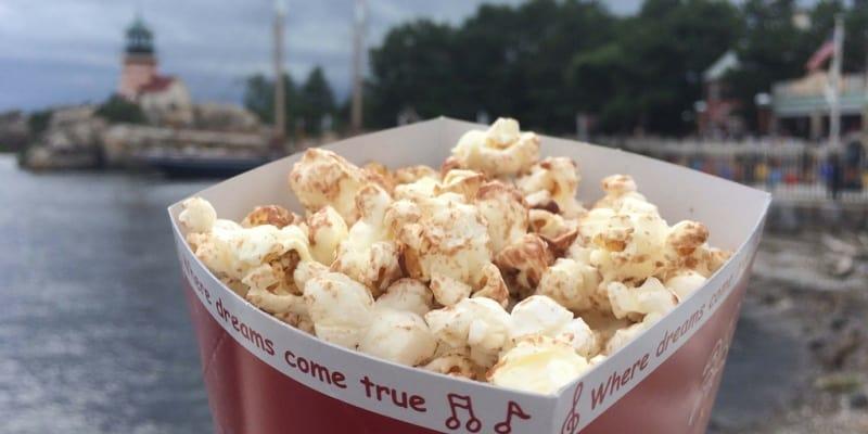 Milk Chocolate Popcorn Review Tokyo DisneySea