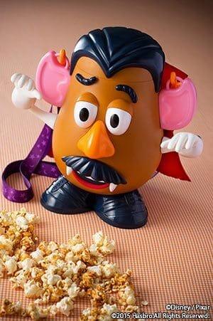 Popcorn with Mr Potato Head Bucket ¥2,100 Available at Popcorn Wagons around the Park