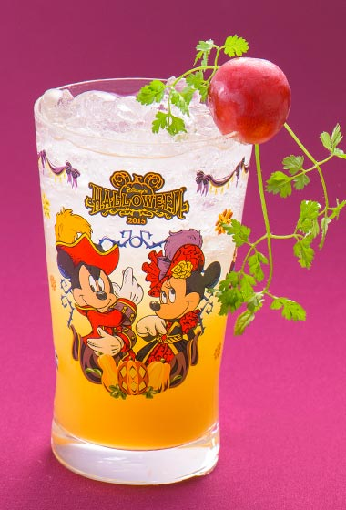 Disney's Halloween Special Non-Alcoholic Cocktail with collectable Glass ¥1,860