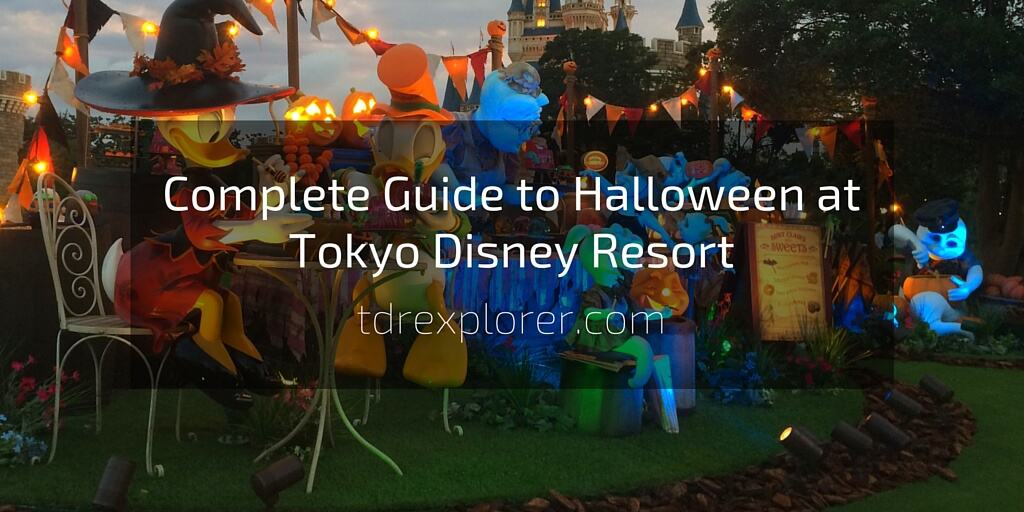Complete Guide to Halloween at Tokyo Disney Resort