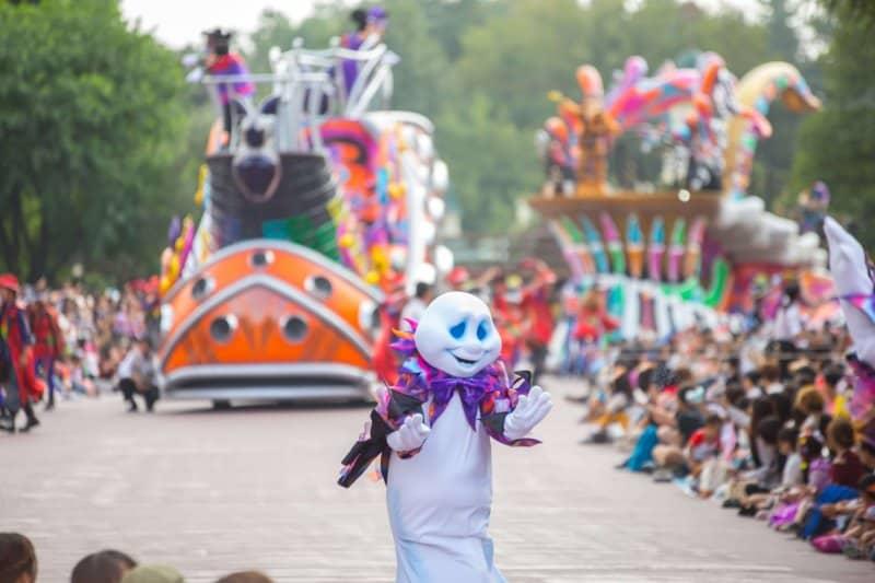 Ghost in Pop N Live Parade Tokyo Disneyland Halloween 2016