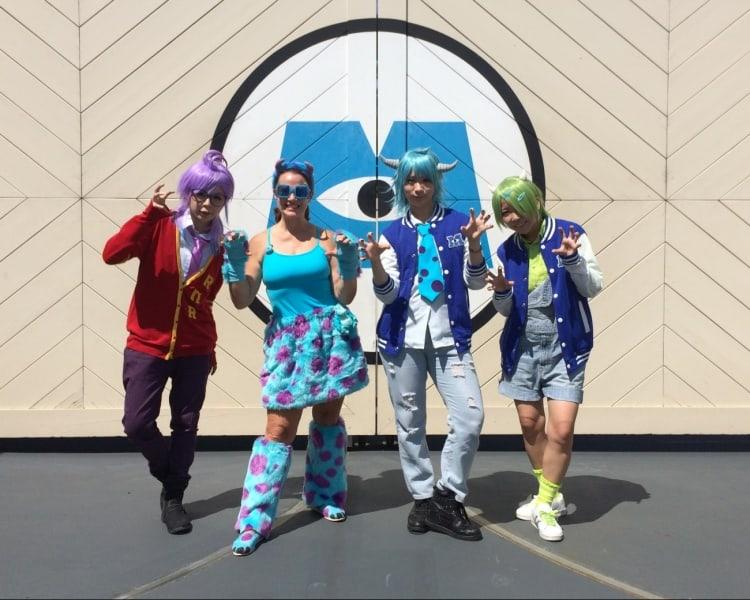 Monsters Inc Costumes Tokyo Disneyland