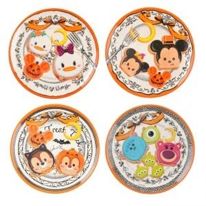Tsum Tsum Halloween Plate Set ¥1,944