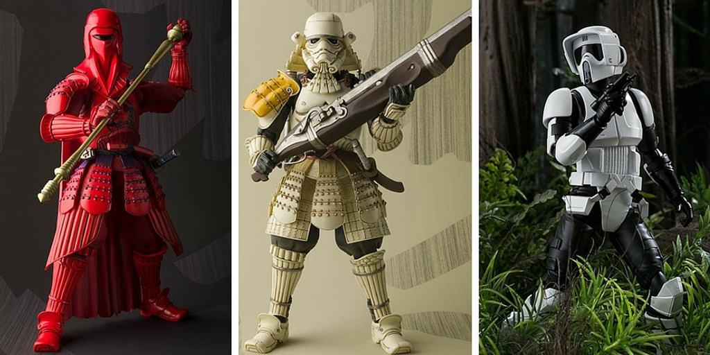 Receive 15% Off When You Buy These Exclusive Japan Only Star Wars Figures