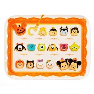 Tsum Tsum Halloween Tray ¥1,512