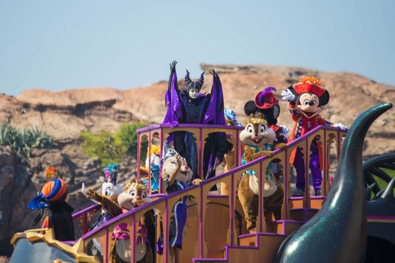 Disney Friends in Villains World Tokyo DisneySea