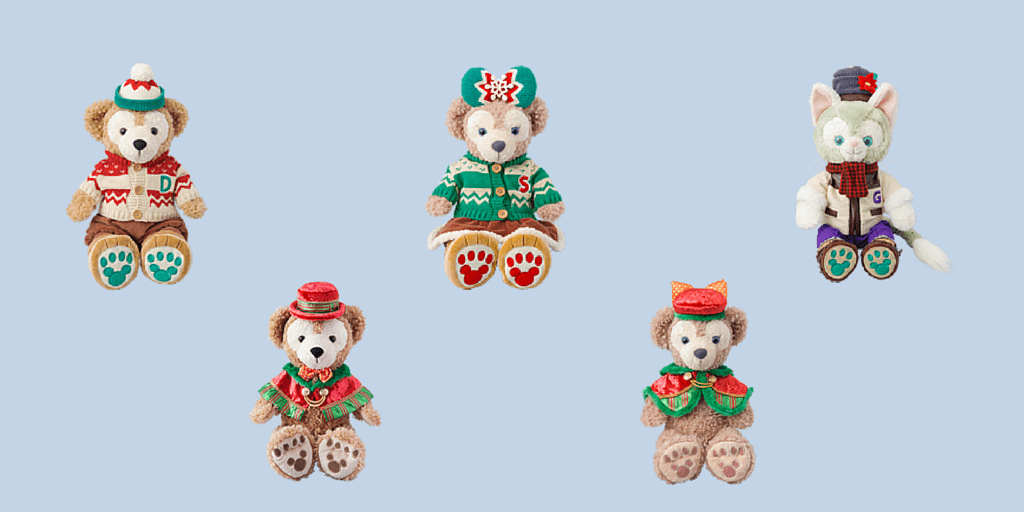 Duffy Christmas Food and Merchandise for 2015