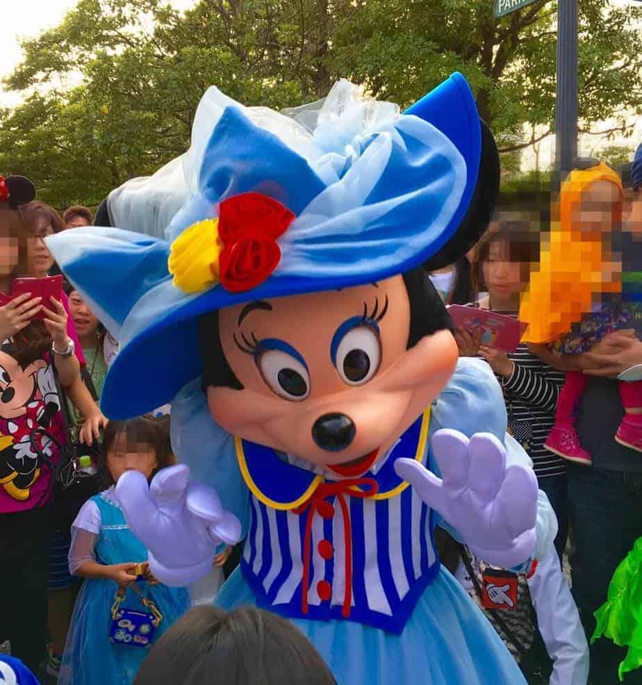Minnie Mouse at Tokyo DisneySea