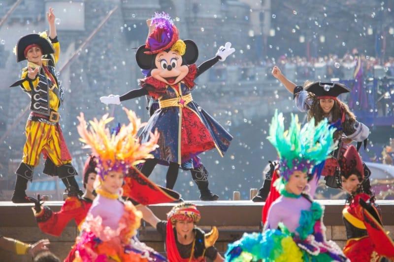 Minnie Mouse in Villains World Tokyo DisneySea