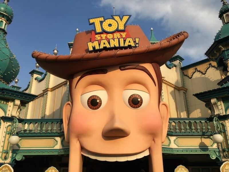 Toy Story Mania Tokyo DisneySea