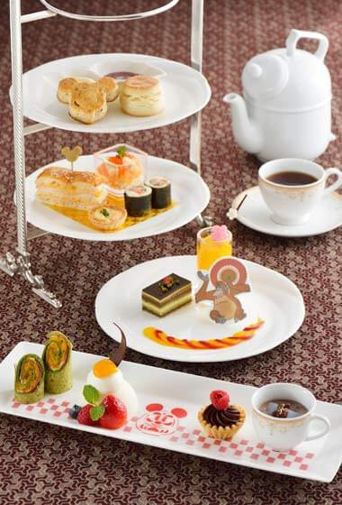 Afternoon Tea Set ¥3,190 Available December 26, 2015 - January 5, 2016 at Dreamers Lounge