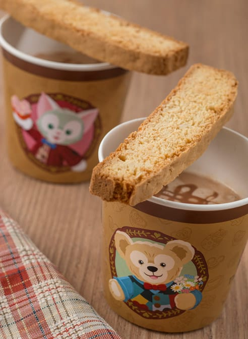 Italian Hot Chocolate Drink ¥480 Available at Gondolier Snacks