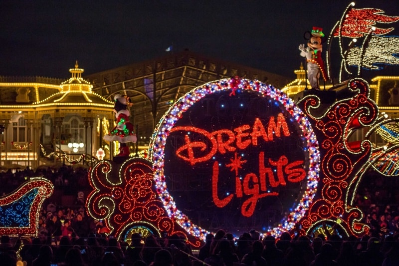Tokyo Disneyland Electrical Parade Dreamlights Christmas