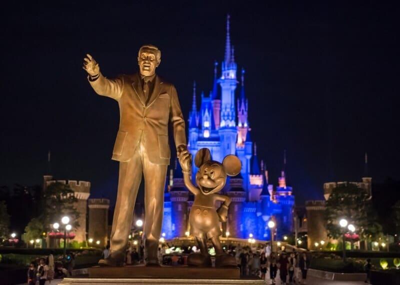 Partner Statue at Tokyo Disneyland