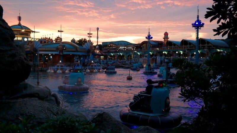 Aquatopia Sunset Tokyo DisneySea