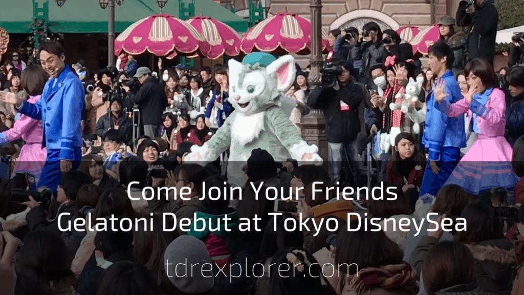 Gelatoni Debuts at Tokyo DisneySea