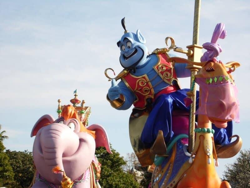 Genie Happiness is Here Tokyo Disneyland