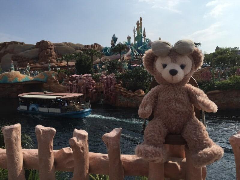 ShellieMay enjoying a hot summer's day in Mermaid Lagoon