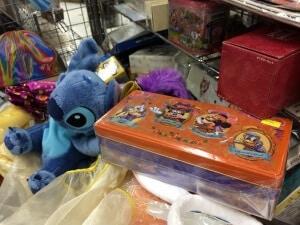 Assortment of Tokyo Disney Resort Goods ROBOT ROBOT2