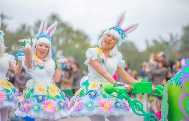 Hippity Hoppity Springtime Parade Tokyo Disineyland