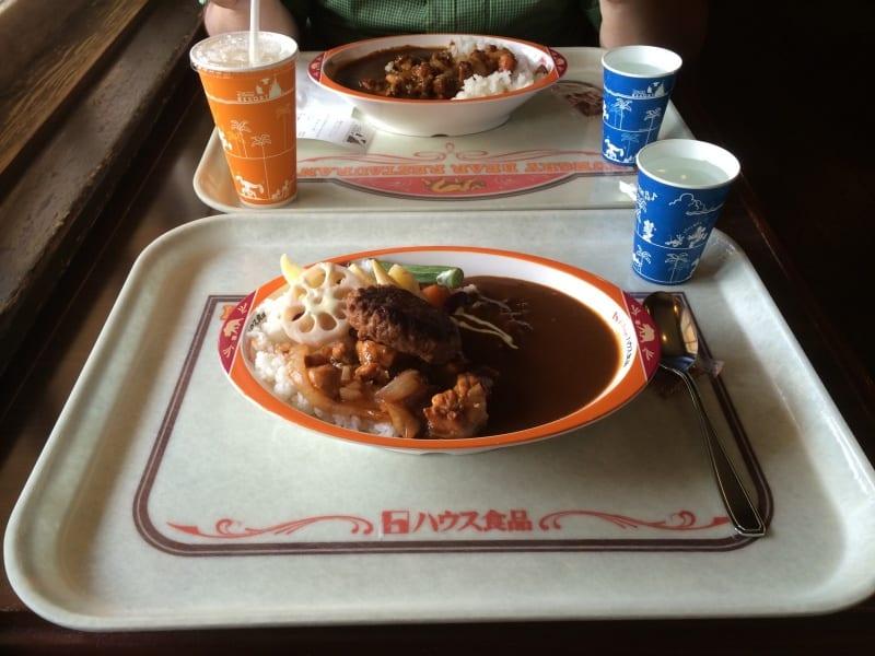 Hungry Bear Curry Tokyo Disneyland