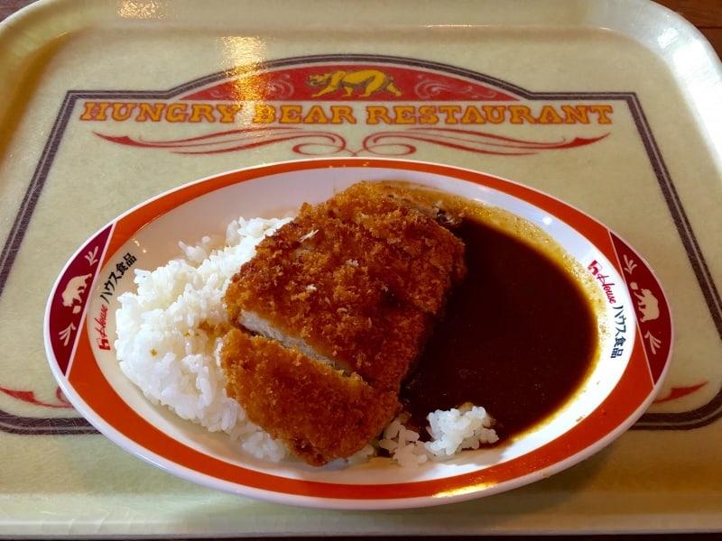 Hungry Bear Restaurant Pork Curry Tokyo Disneyland
