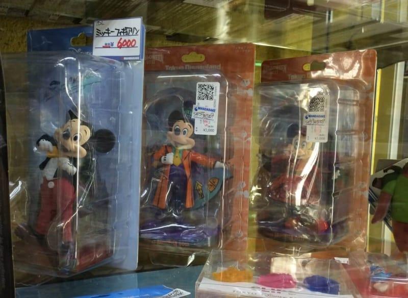Mandarake Tokyo Disney Resort Exclusive Figurines