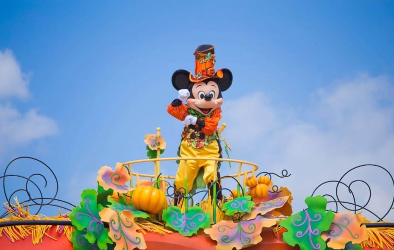 Mickey Halloween Harvest Parade Tokyo Disneyland