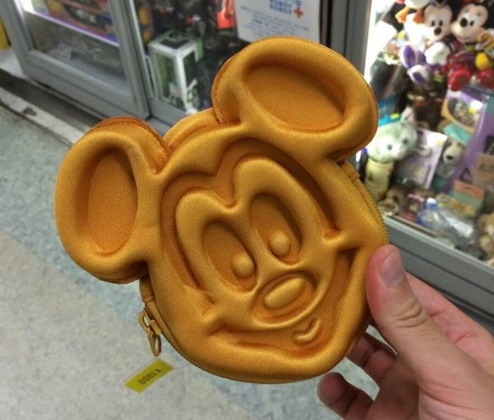 Mickey Waffle Wallet from Tokyo Disney Resort