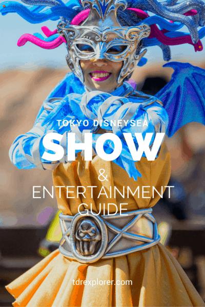 Pinterest Tokyo DisneySea Entertainment Guide