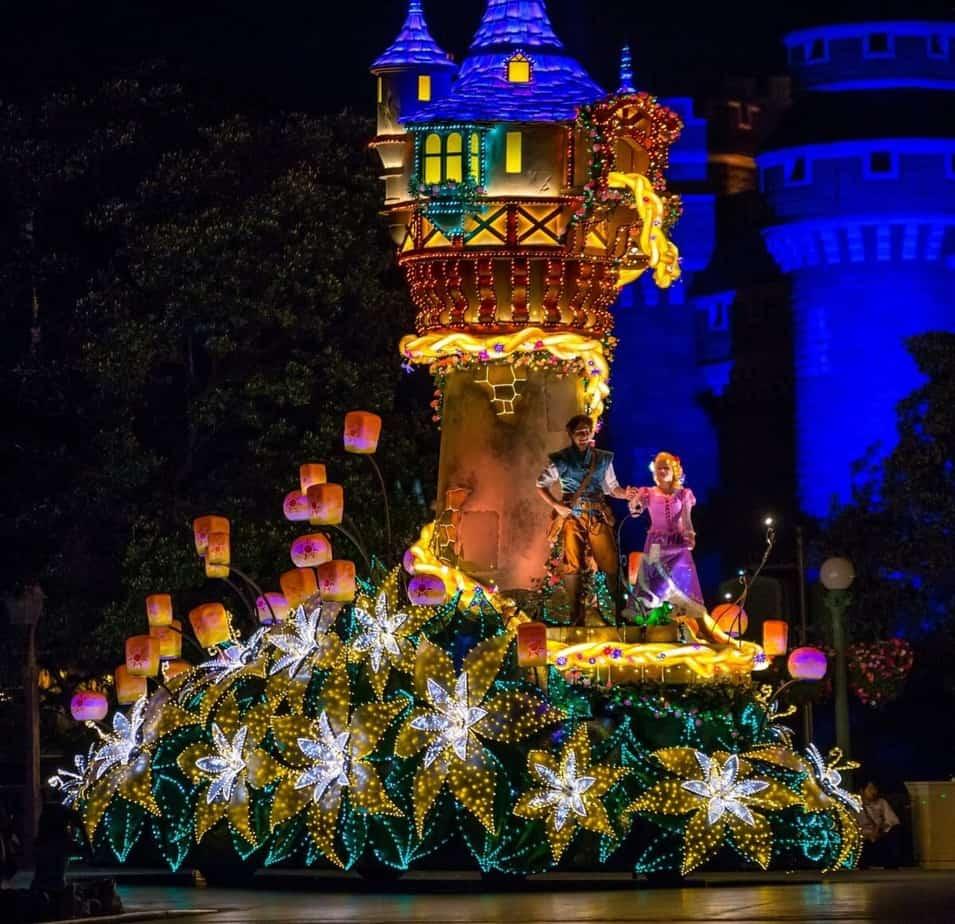 Tangled Electrical Parade Tokyo Disneyland