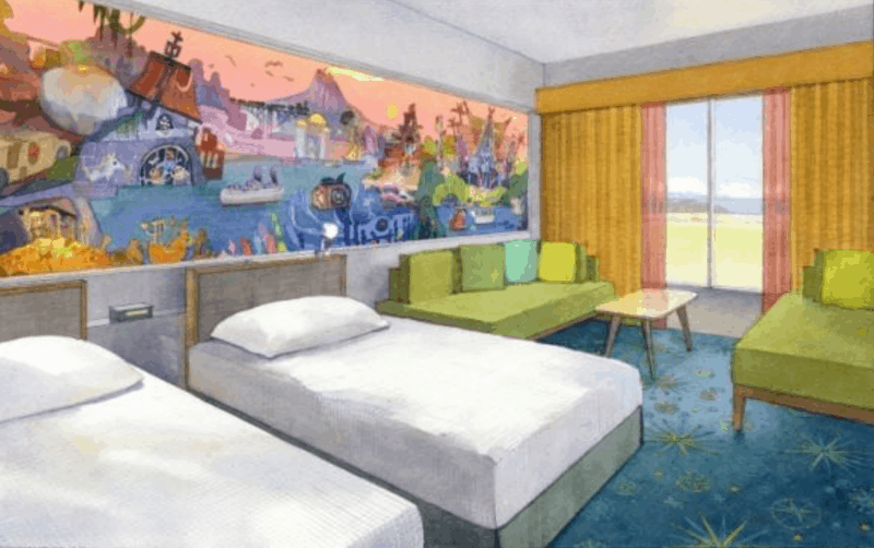 Tokyo Disney Celebration Hotel – Discover building room
