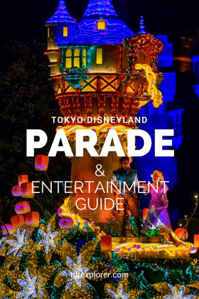 Tokyo Disneyland Parade Guide Pinterest