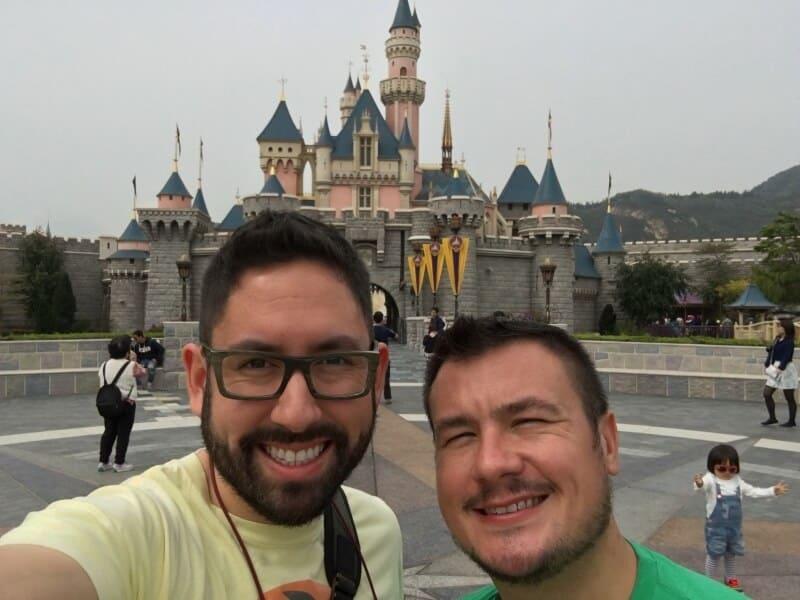 Final Park Hong Kong Disneyland Chris Nilghe and John Himpe