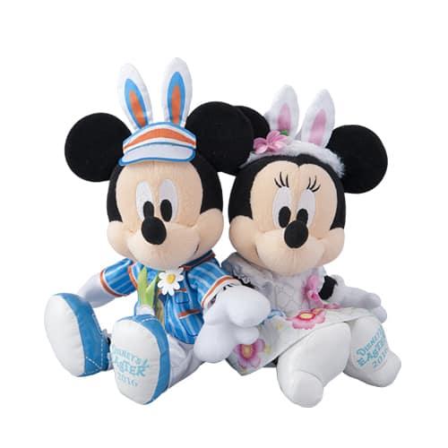 Mickey & Minnie Stuffed Toy Set ¥5,000