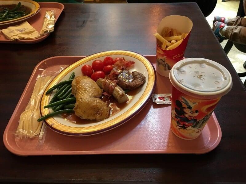 Royal Banquet Hall Hong Kong Disneyland Mixed Grill