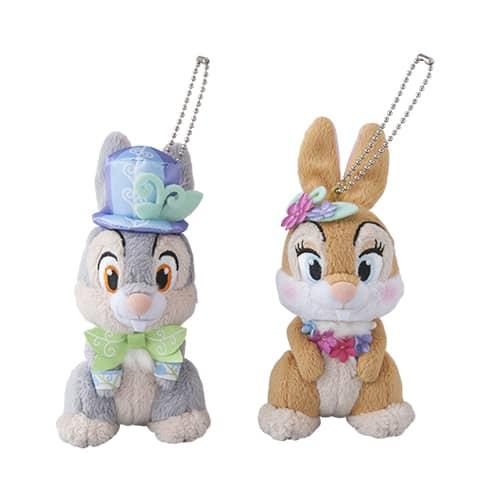 Thumper & Miss Bunny Stuffed Badge Set ¥2,800