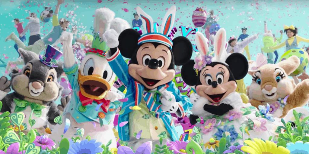 Tokyo Disneyland Disney's Easter 2016 Japanese TV Commercial