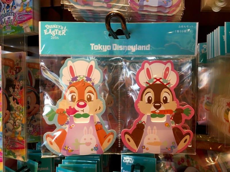 Chip N Dale Merchandise Easter Tokyo Disneyland