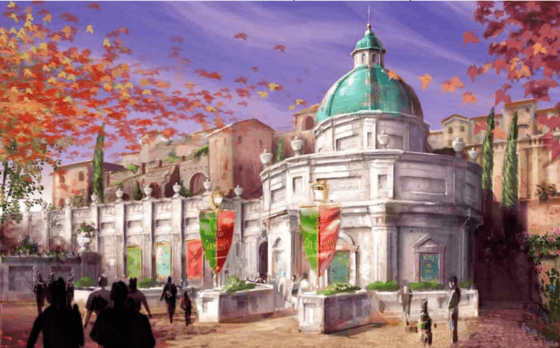 Concept Art for Soarin' Tokyo DisneySea