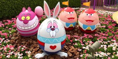 Disney's Easter Guide at Tokyo Disneyland