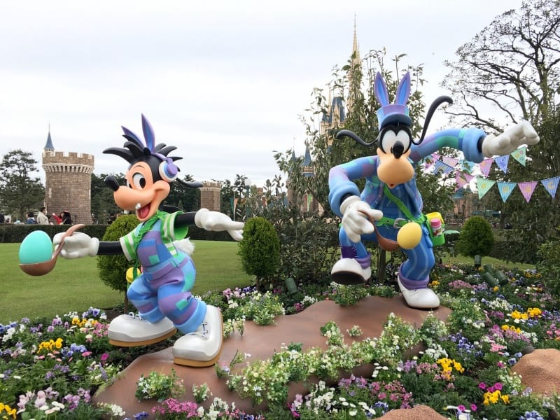 Goofy and Max Easter Tokyo Disneyland